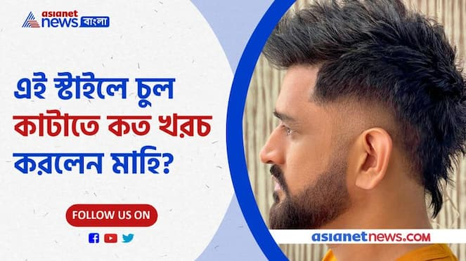 New hair style of Narendra Singh Dhoni Pnb