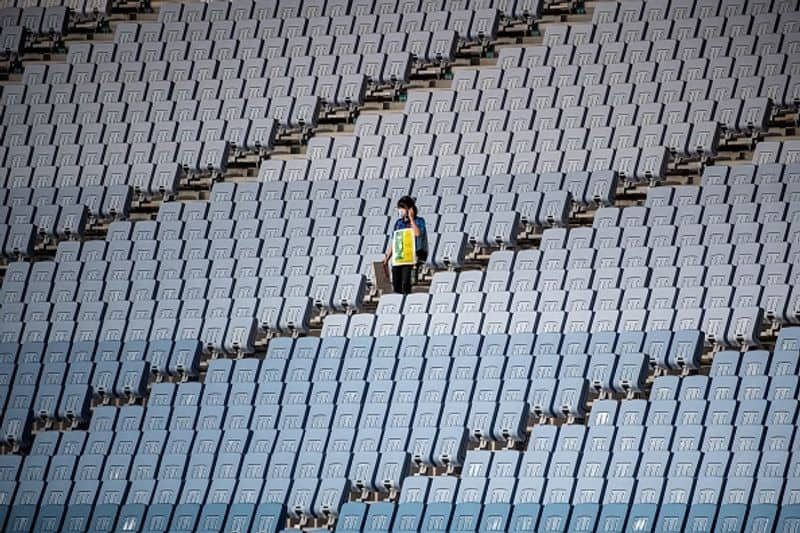 pin drop silence in tokyo olympic auditoriums very big setback for athletes