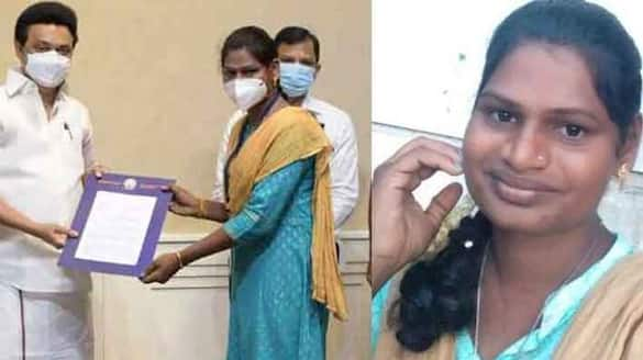 transwoman from Thiruvannamalai selected as the 2nd SI of Tamil Nadu