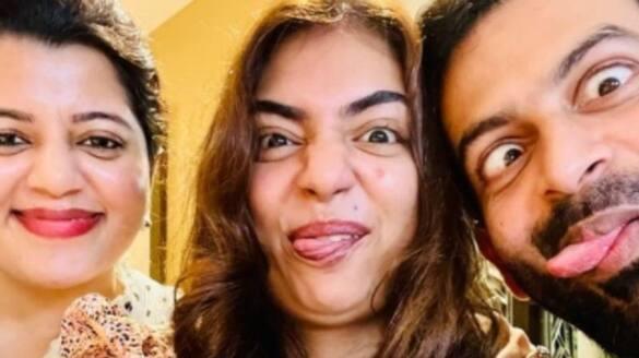 Nazriya wish on Supriya Menon birthday