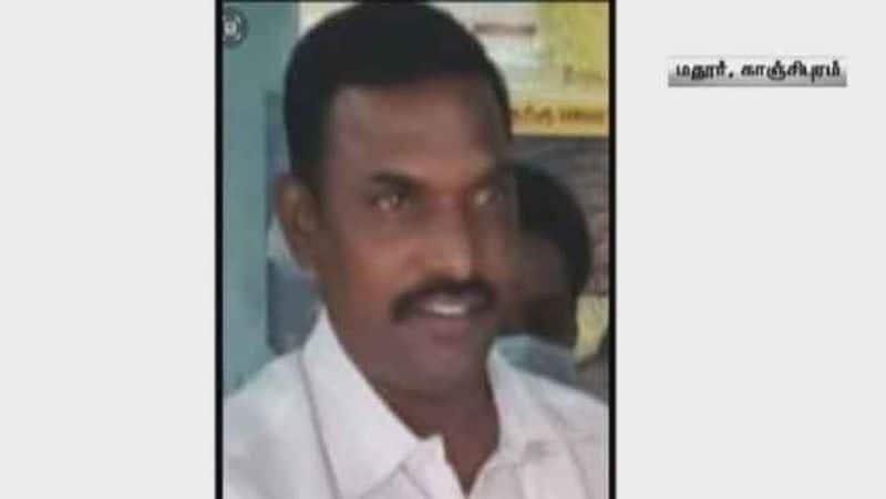 former dmk Panchayat President murder...police investigation