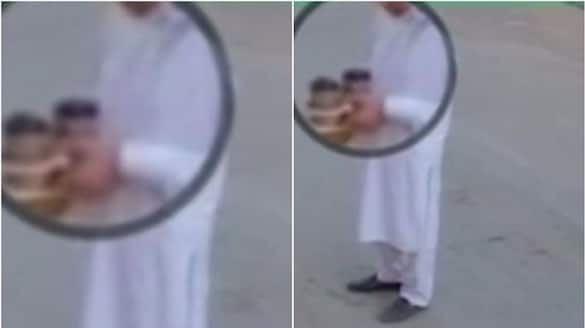 delivery man arrested for spitting in coffee cups  in saudi