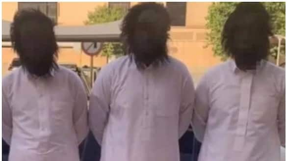 four arrested in saudi for wearing scary masks and pranking people