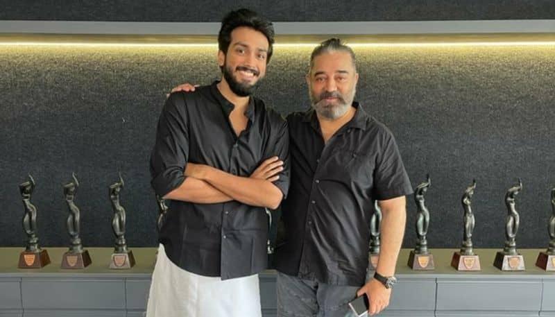 lokesh Kanagaraj welcome young actor kalidas to kamal hassan vikram movie