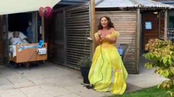 surprise birthday party for 88 year old woman