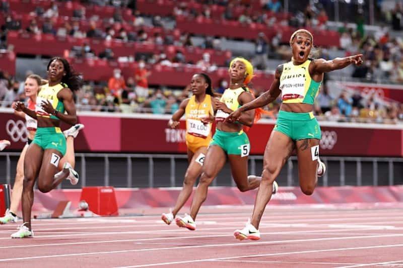 Tokyo Olympics 2020, Jamaican Elaine Thompson-Herah wins gold in Women's 100m sprint ALB