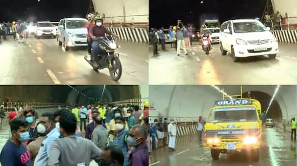 kuthiran tunel opened for traffic