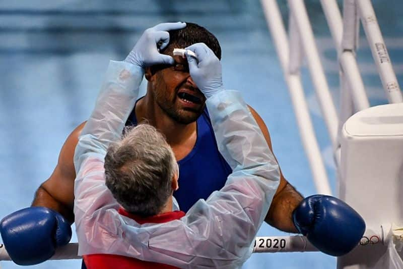 Tokyo Olympics 2020, Satish Kumar shows Indian Army spirit in ring, earns respect from opponent ALB