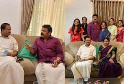 Actor krishna kumar facebook post about bjp central minister v muraleedharan