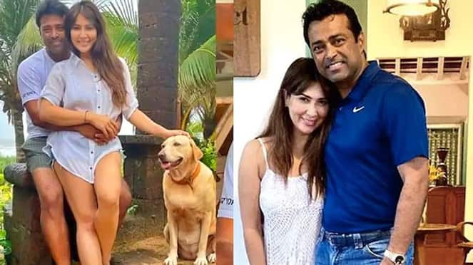 Mohabbatein Actress Kim Sharma Spotted with Leander Paes in Mumbai