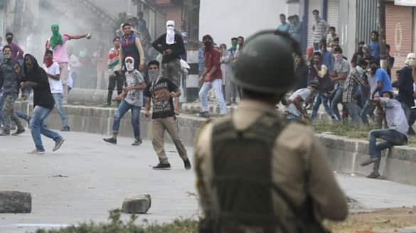 Jammu Kashmir police to deny security clearance for govt services or passport to stone palters bsm