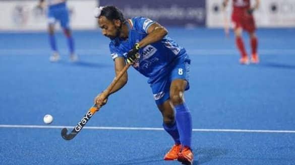 Watch Video Hardik Singh wonder goal against GBR