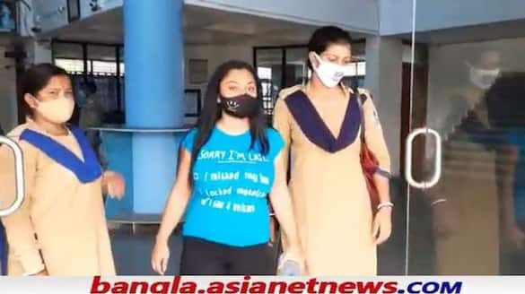 Nandita Dutt and Mainak Ghosh produced in Barasat court on Monday in Newtown pornography case RTB