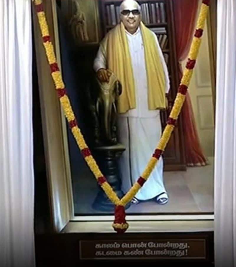 Annamalai at Karunanidhi film opening ceremony .. Seat near Thiruma .. Sentiment DMK.