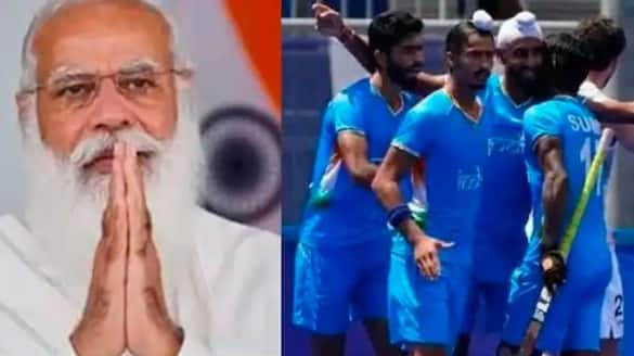 PM Modi gives morale boost to Indian hockey team after lost the semi final of Tokyo 2020 Olympics spb