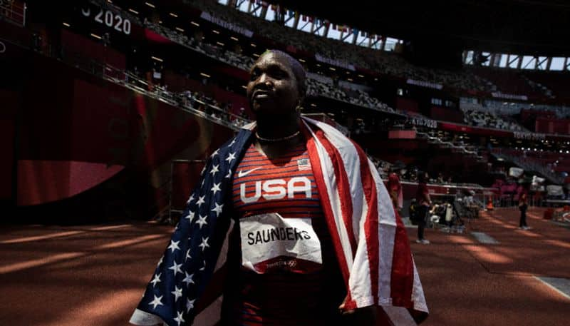 Tokyo 2020 US Shot Putter Raven Saunders Olympic Podium Protest will investigate by IOC