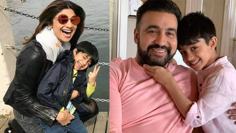 Shilpa Shetty Son Viaan Raj Kundra became emotional and Shares Photos with Mother