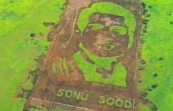 Sonu Sood's fan creates 50000 sq ft portrait on actor's birthday; leaves netizens stunned