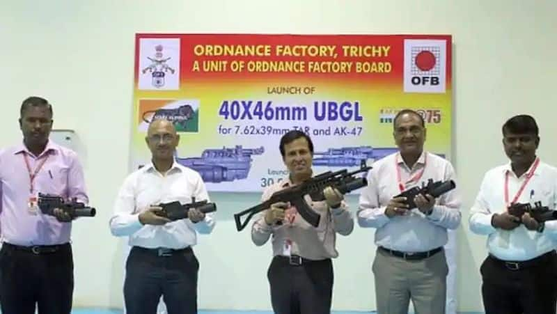 Made in India Trichy assault rifle gets grenade launcher gcw