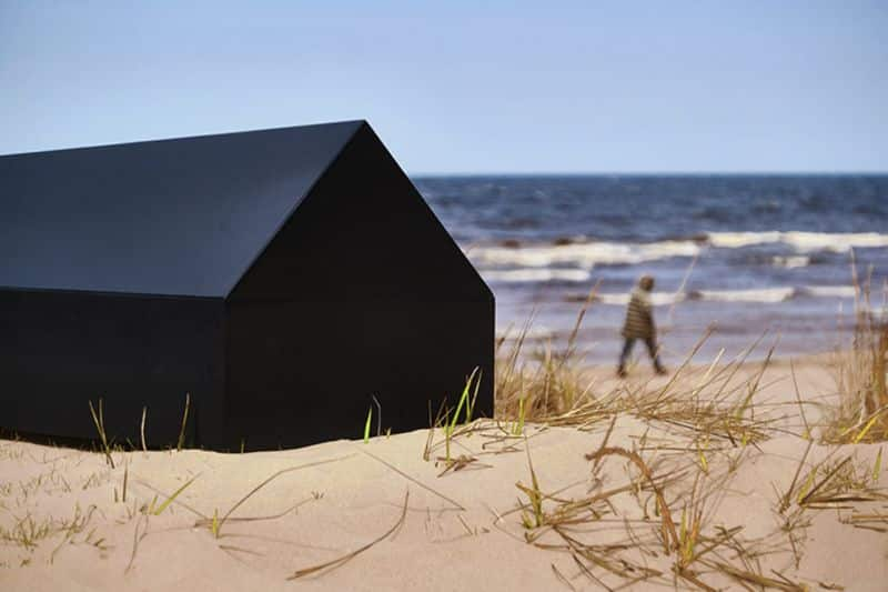 A house shaped coffin for architects