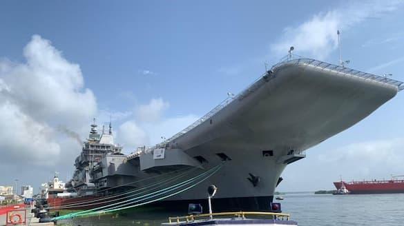 INS Vikrant conduct sea trials