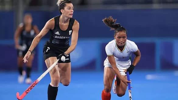 India women lost to Argentina in Olympic Hockey