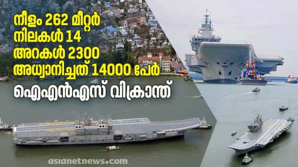 All you need to know about India first indigenously built aircraft carrier INS Vikrant