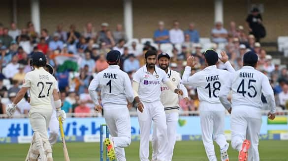 India vs England 1st test England lost two wickets