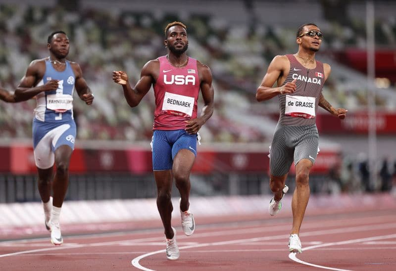 Canadas Andre De Grasse won Olympic gold in men's 200m final