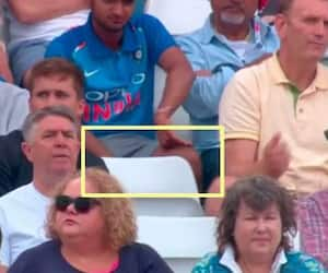 INDvsENG 1st Test: Friends Reserved a seat for his passed away friend in Trent bridge CRA