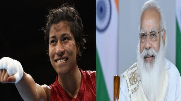 2nd October Lovlina Borgohain famous for punches but gandhi ji spoke non violence PM Modi told to Boxer ckm