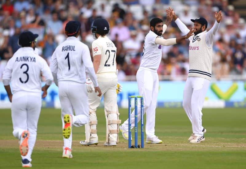 England all out at 183 runs in first innings, India score 21 for no loss at the end of day 1 spb