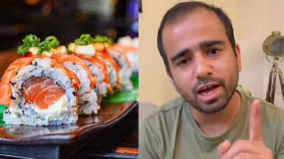 comedians video about sushi going viral in social media