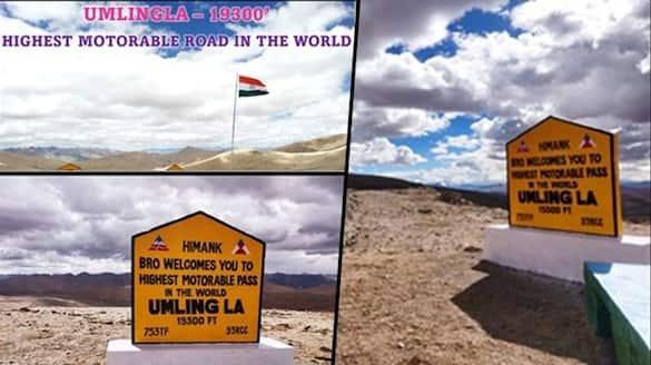 BRO lays world's highest motorable road in Eastern Ladakh-VPN