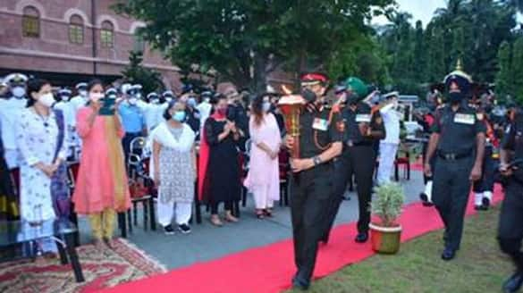 events at Cellular Jail to commemorate the 50th anniversary of India's victory in the 1971 war