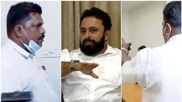 indiavision attack case accused rafi makes clash in moeen ali press meet