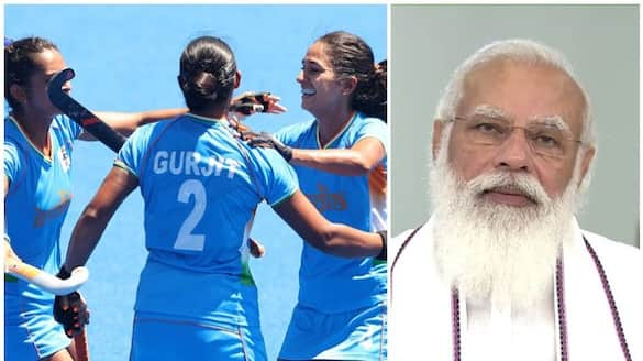 PM Modi says proud of women's hockey team after bronze medal loss in Tokyo 2020