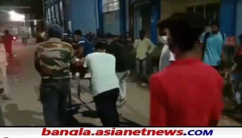 Husband tried to commit suicide by killing his wife due to family problems in Burdwan RTB
