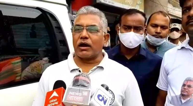BJP leader Dilip Ghosh attacks to  Mukul Roy on Multiple issue RTB