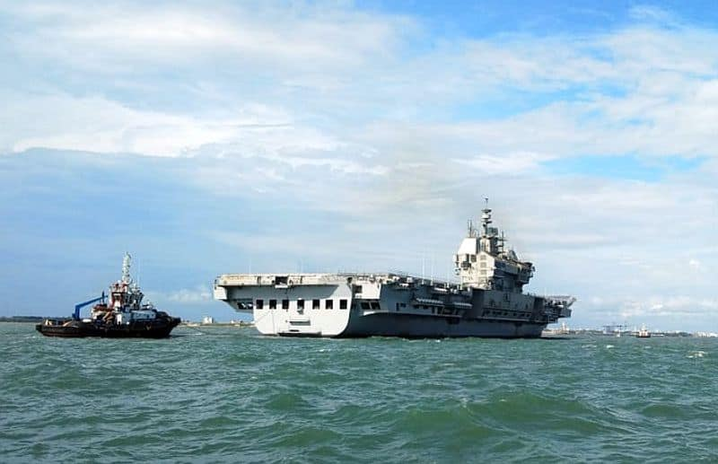 Vikrant completes maiden sea trials successfully, back in Kochi harbour-VPN