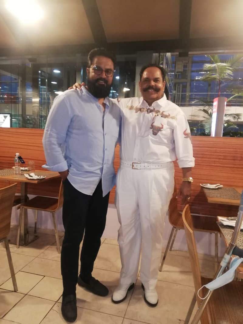 actor sarathkumar meet sooriyan movie producer