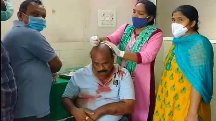 Somu Veerraju condemns attack on BJP Leader Madam Ramesh in Vinukonda, Guntur