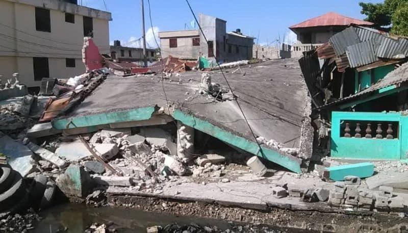 Haiti earthquake more than 300 people dead after 7 2 magnitude earthquake bsm
