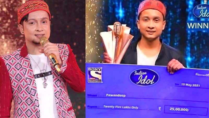 So did Pawandeep Rajan become the winner of Indian Idol 12, the reality of the photo going viral