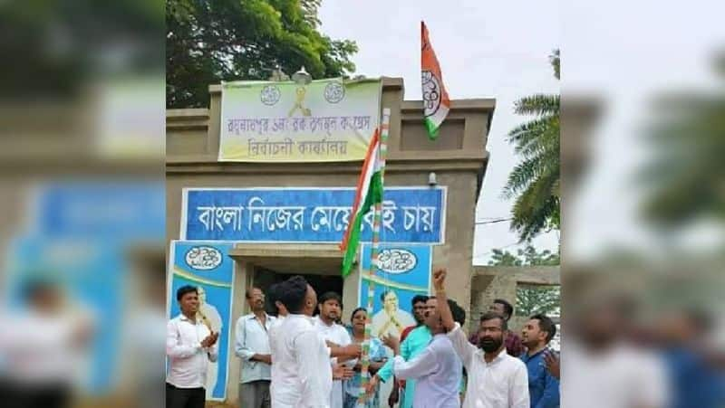 TMC caught in national flag controversy in Purulia, BJP to lodge an FIR ALB