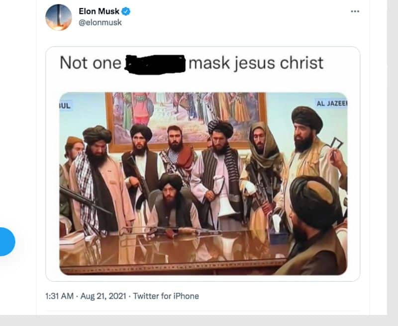 Why Elon Musk has problem with Taliban not what you think gcw