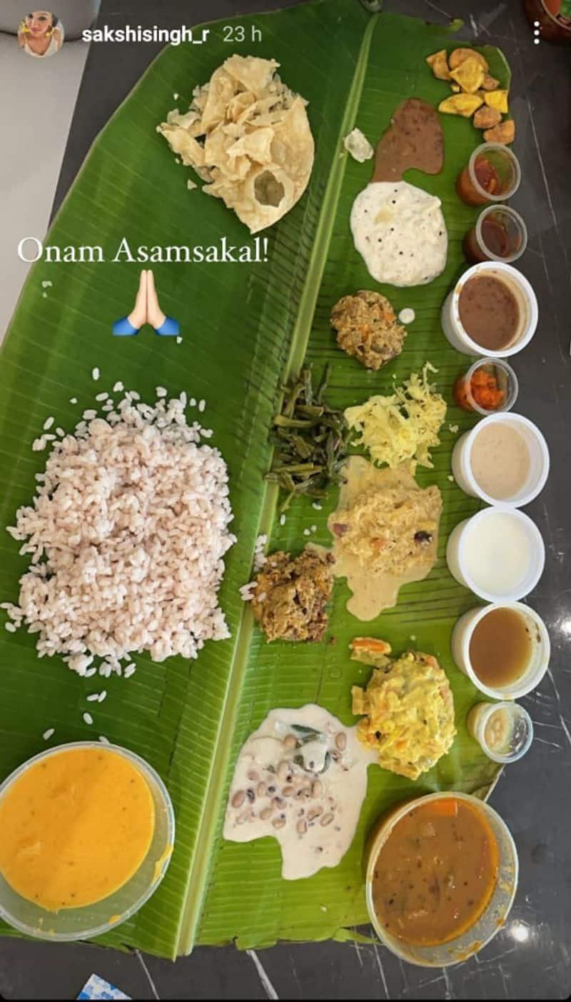 Dhoni Family sends onam wishes and celebrates