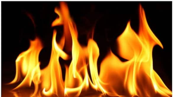 Fire at flat in palakkad