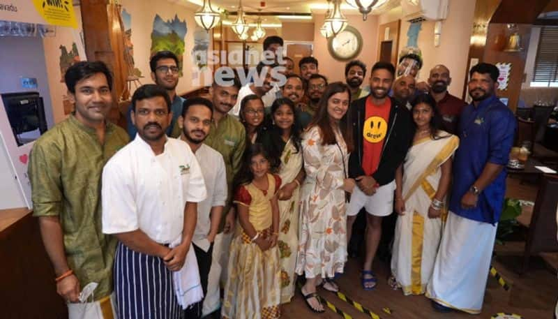 Team India had their Onam Sadhya with 21 dishes in England