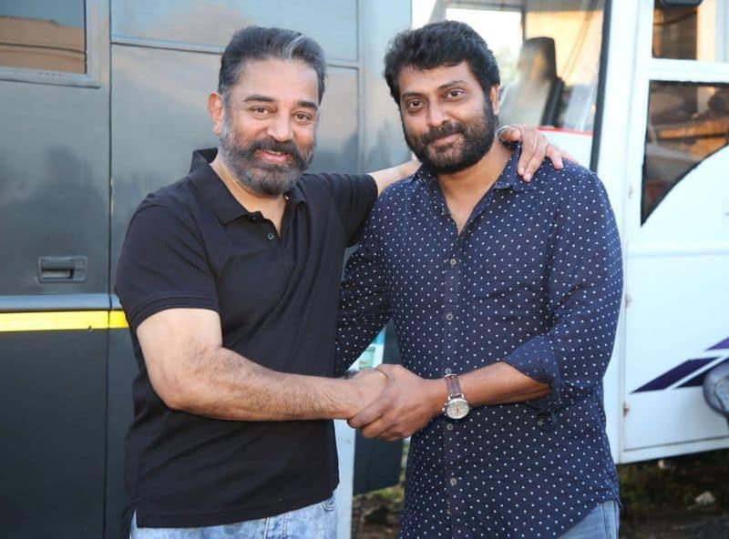 actor naren join in vikram movie photo goes viral
